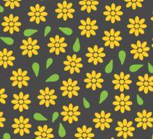 Pattern little yellow flowers Sticker