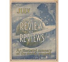 Artist Posters The review of reviews An illustrated summary of the world's progress July 0845 Photographic Print