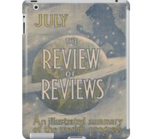 Artist Posters The review of reviews An illustrated summary of the world's progress July 0845 iPad Case/Skin