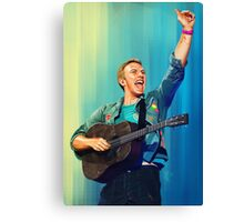 Chris Martin Canvas Print