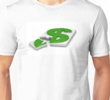 surround a dollar sign puzzle  Unisex T-Shirt