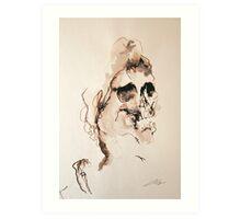 fancy death Art Print