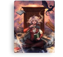 Book Magic Canvas Print