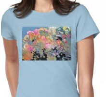 Inner Bloom II Digital Womens Fitted T-Shirt