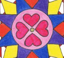 April's Mandala Sticker