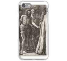 The Labourers in the Vineyard, published  iPhone Case/Skin