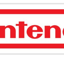 Retro NES Nintendo Logo Sticker
