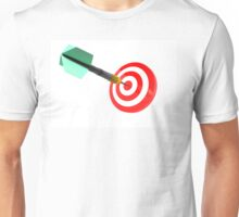 The success of hitting the target for the purpose of achieving the goal Unisex T-Shirt