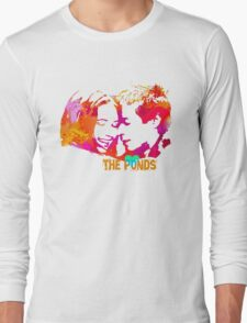 The Ponds, Amy and Rory  Long Sleeve T-Shirt