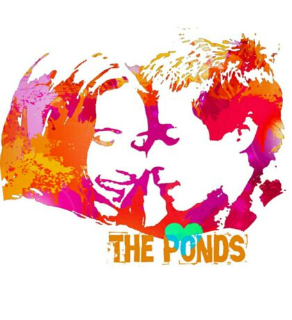 The Ponds, Amy and Rory  Sticker
