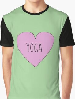 Yoga Love Graphic T-Shirt
