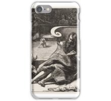 The Rich Man and Lazarus, published iPhone Case/Skin