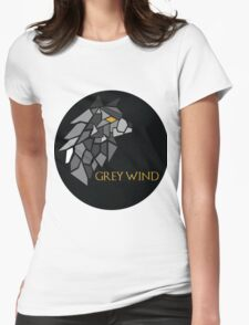 Direwolf - Grey Wind Womens Fitted T-Shirt
