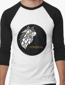 Direwolf - Nymeria Men's Baseball ¾ T-Shirt