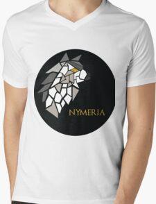 Direwolf - Nymeria Mens V-Neck T-Shirt