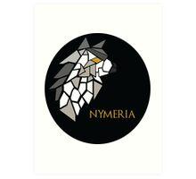 Direwolf - Nymeria Art Print