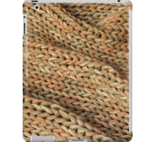 Knitted texture. Background. iPad Case/Skin