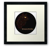 Direwolf - Shaggydog Framed Print
