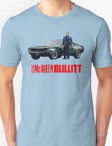 STEVE MCQUEEN BULLITT 1968 FORD MUSTANG T-Shirt