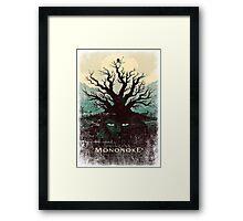 Mononoke Princess Framed Print