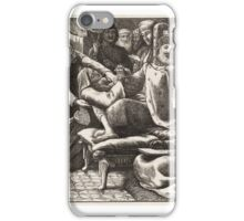 The Unjust Judge and the Importunate Widow, published iPhone Case/Skin