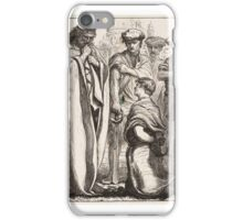 The Unmerciful Servant, published iPhone Case/Skin