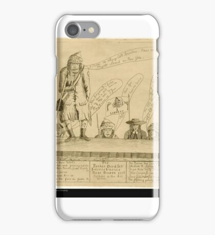 The Yankee Doodles Intrenchments Near Boston iPhone Case/Skin