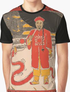 Artist Posters The Chinese must go Andrews' history October Scribner's 0841 Graphic T-Shirt
