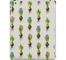 Hyacinthus orientalis in three shades iPad Case/Skin