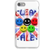 clean athlete british iPhone Case/Skin