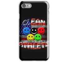 clean athlete , U S A iPhone Case/Skin