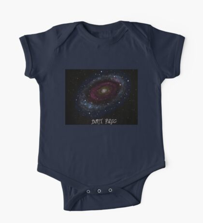 The Hitchhiker's Guide to the Galaxy Tshirt , Don't Panic One Piece - Short Sleeve