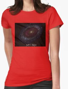 The Hitchhiker's Guide to the Galaxy Tshirt , Don't Panic Womens Fitted T-Shirt