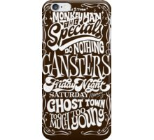 THE SPECIALS : SONG iPhone Case/Skin
