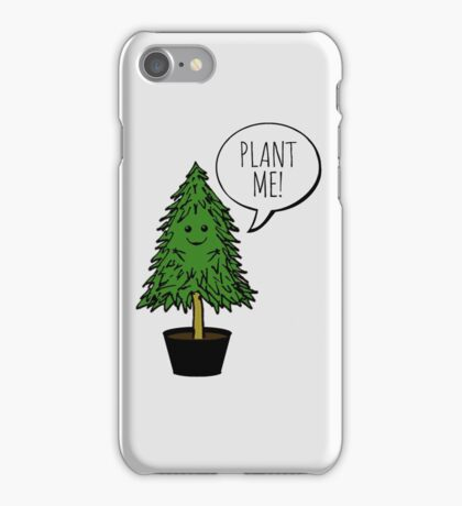 Plant More Trees iPhone Case/Skin