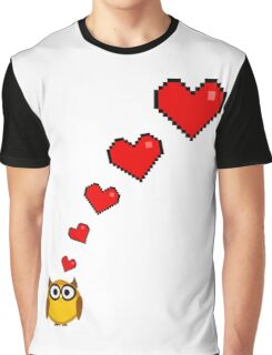 Owl's big fat fluffy thoughts Graphic T-Shirt