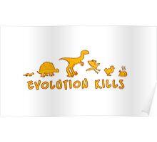 Evolution Kills Poster