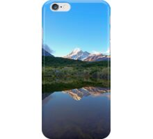 Mount Cook Reflection iPhone Case/Skin