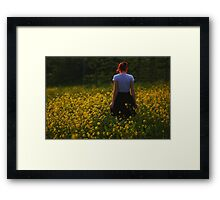 To find peace Framed Print