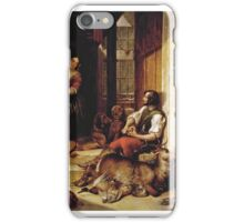 Thomas Jones Barker - A Successful Hunt iPhone Case/Skin