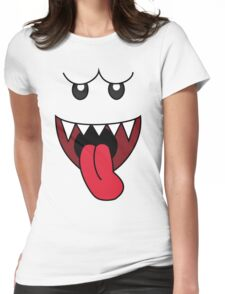 boo Womens Fitted T-Shirt