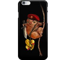 Commando Hamster iPhone Case/Skin