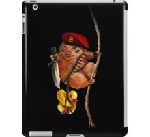 Commando Hamster iPad Case/Skin