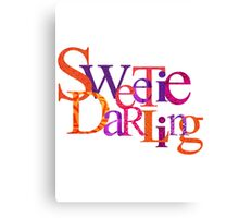Sweety Darling 2 Canvas Print