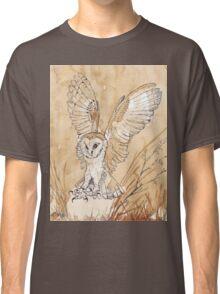 Barn Owl hunting 2 Classic T-Shirt