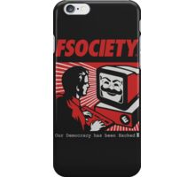 FSociety - Mr.Robot iPhone Case/Skin