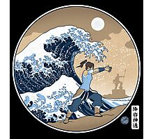 Avatar Waterbender Great Wave Photographic Print