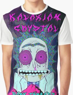 Rick Sanchez Kalaxian Crystal Graphic T-Shirt