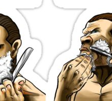 Beard Club Don't Shave Sticker