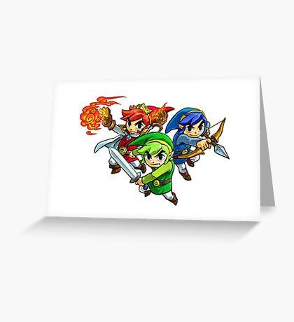 The legend of Zelda Greeting Card